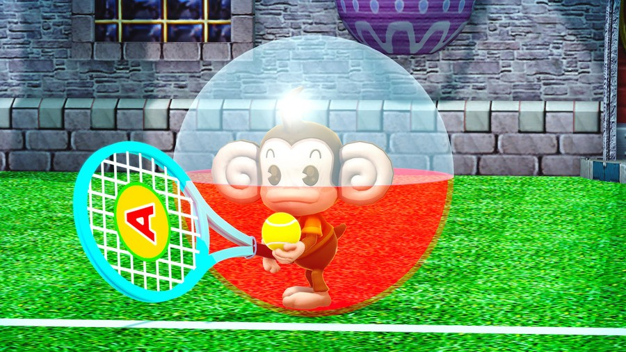 AiAi playing tennis isn't trying to hint at anything, we just thought it was cute.