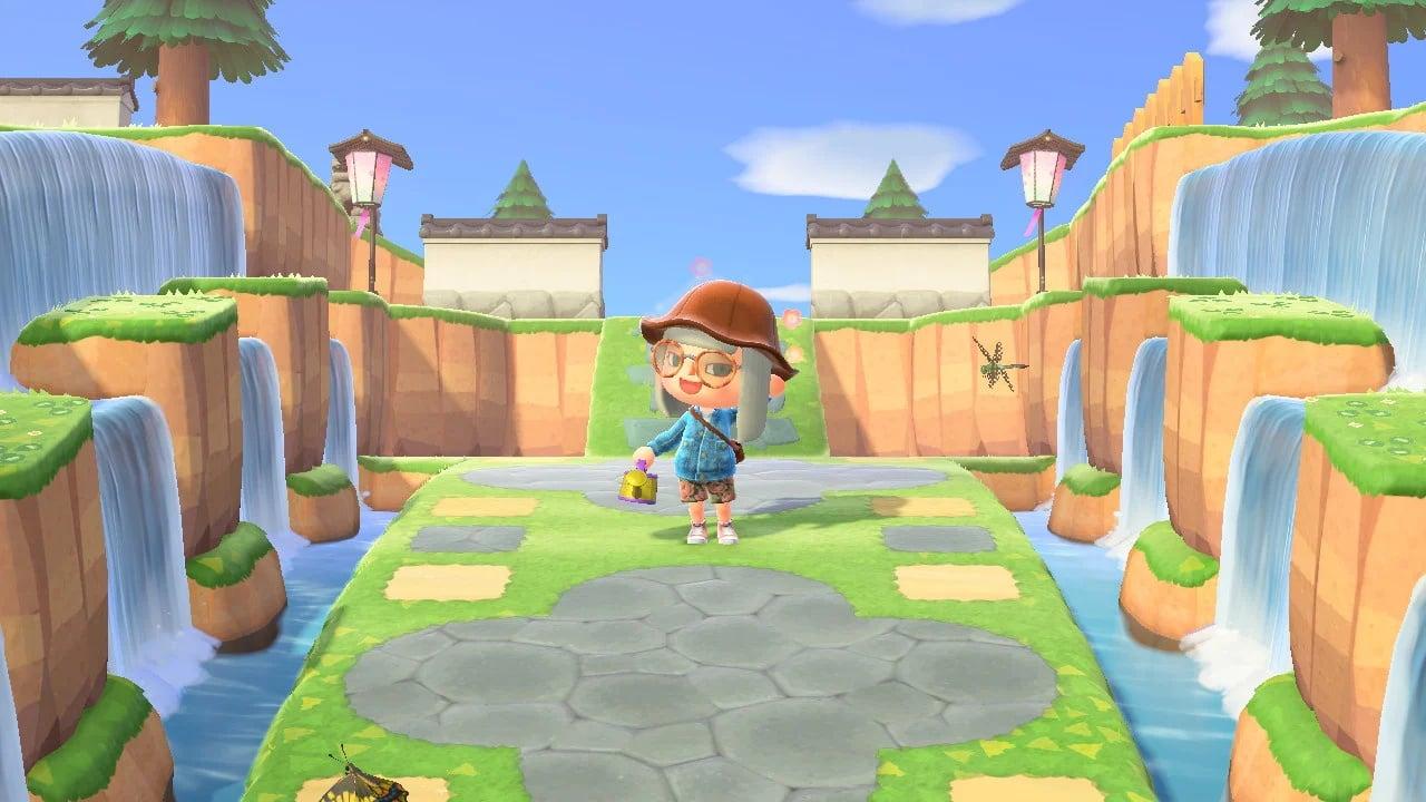 Animal Crossing Entrance Path