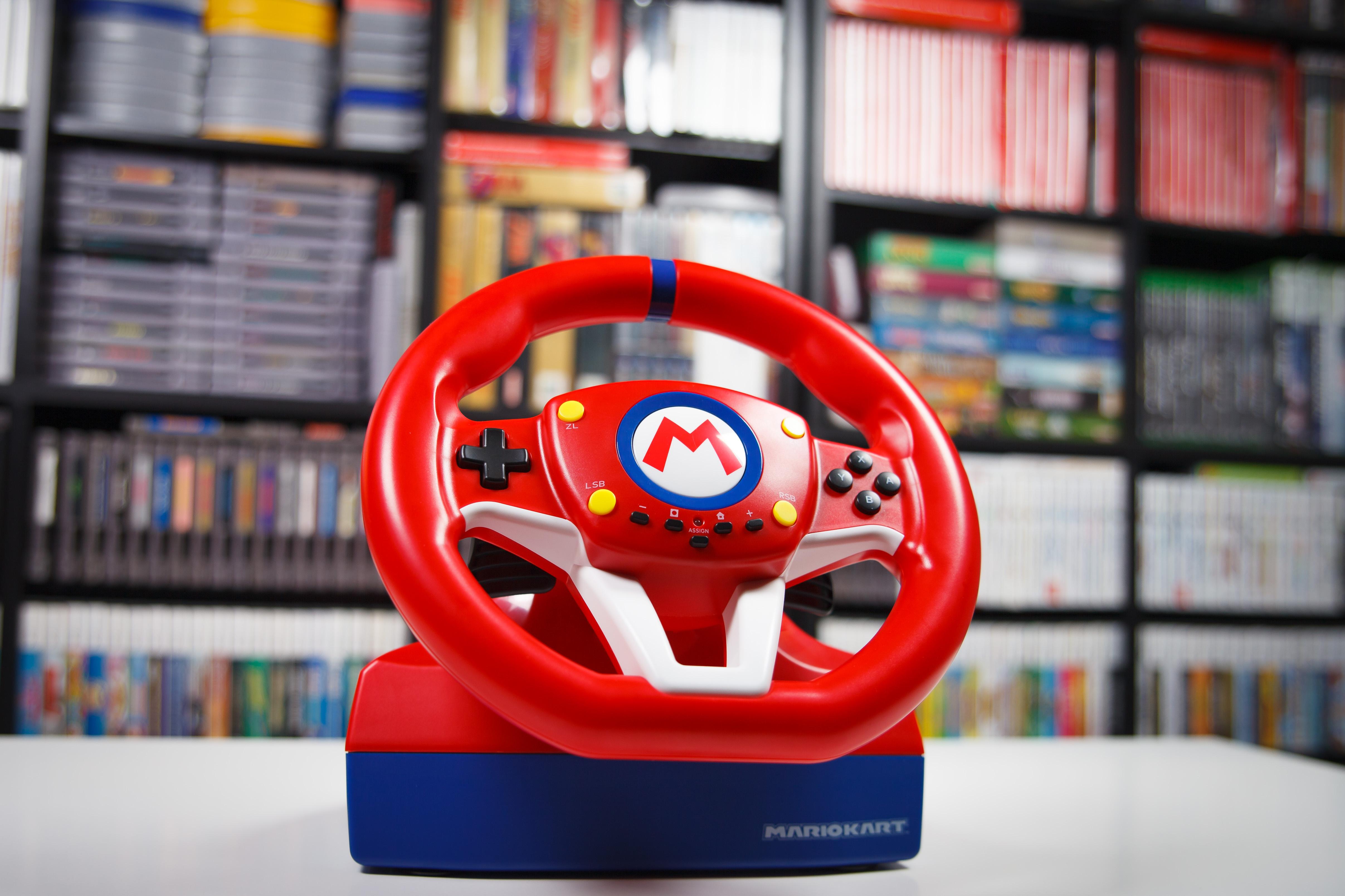 Hardware Review Race Away With Mario Kart Pro Mini Deluxe Racing Wheels Nintendo Life