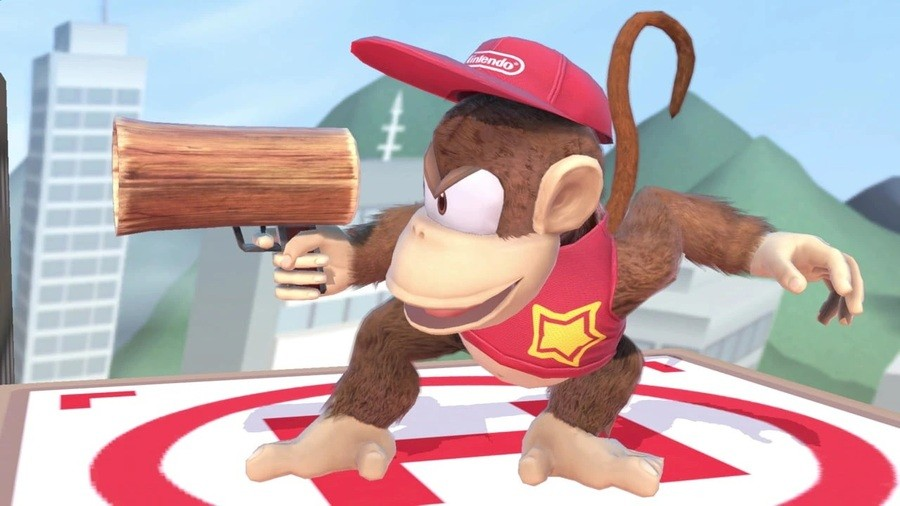 Diddy Kong in Super Smash Bros. Ultimate (2018)