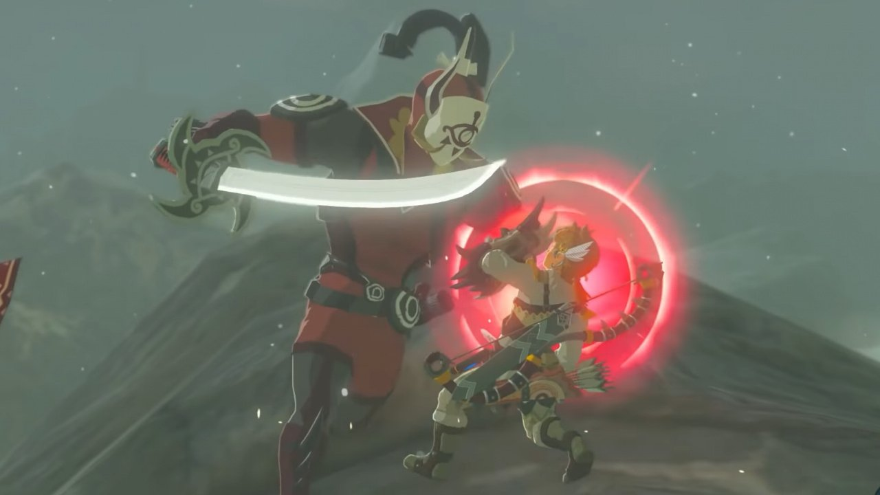 Zelda: Breath Of The Wild 'Second Wind' Expansion Mod Adds Age Of Calamity Boss And Mammoths