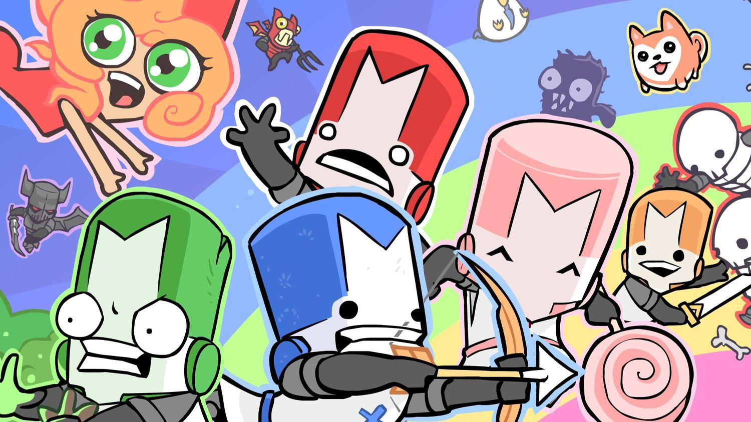 Castle Crashers Remastered heads to Switch and PlayStation 4