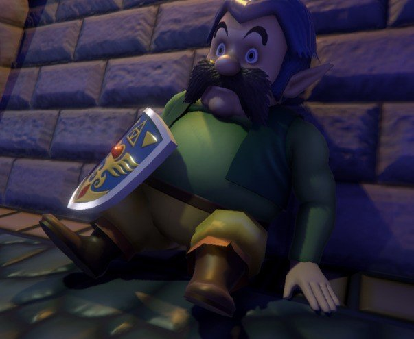 A Link to the Past Link's Uncle