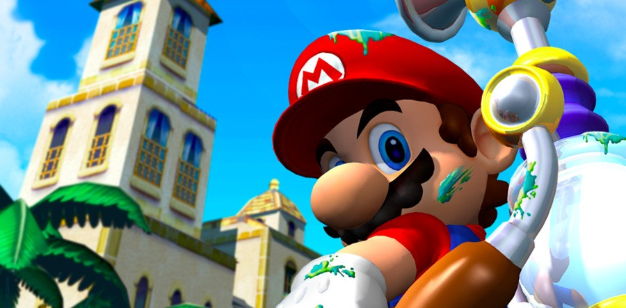 Super Mario Sunshine ended up being the GameCube's only mainline Mario entry