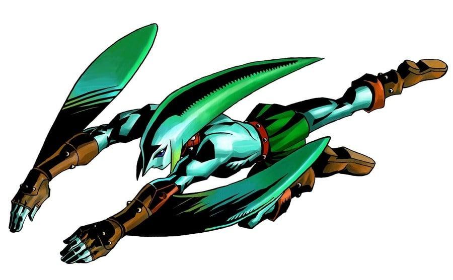 Zelda Majoras Mask 3 D Zora Link Artwork 3 Ds Official