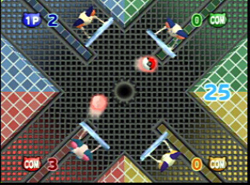 A couple of legendary battle scenes, and two of the best mini-games available – Barrier Ball and Streaming Stampede