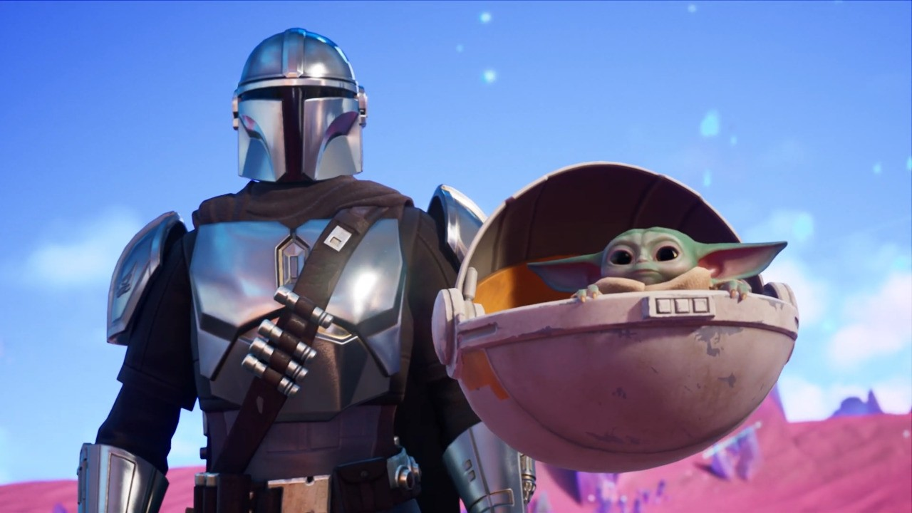 The Mandalorian And Baby Yoda Join Fortnite's Fifth Season