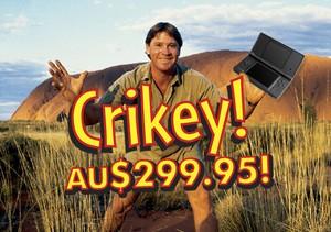 Crikey - It's a big one!