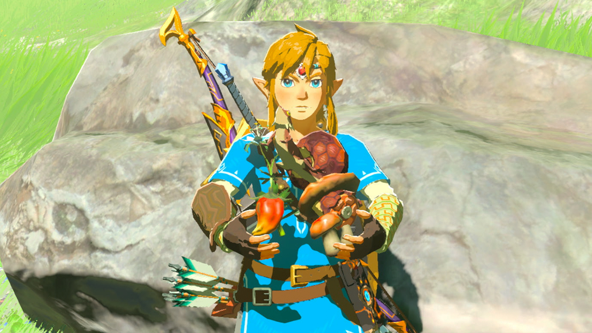 Random World Famous Author Included Zelda Botw Ingredients In His New Book By Mistake Nintendo Life