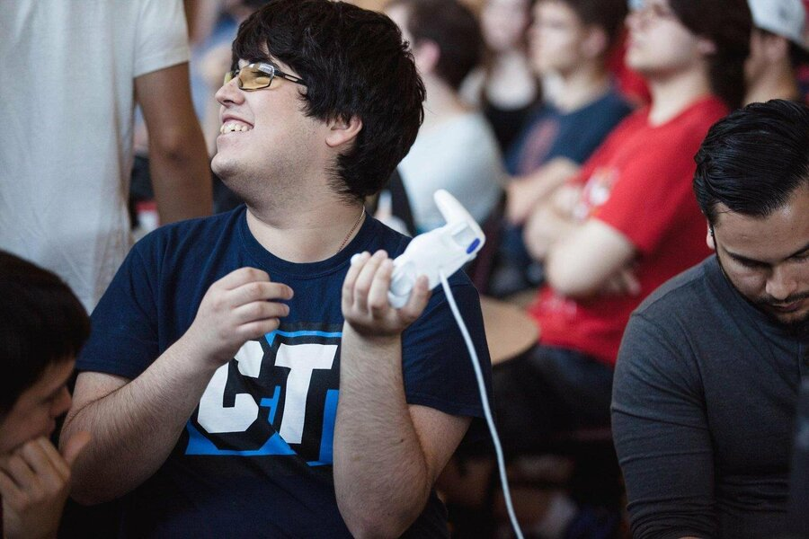 """Gonzalo """"ZeRo"""" Barrios, one of the most famous Smash players on the planet"""
