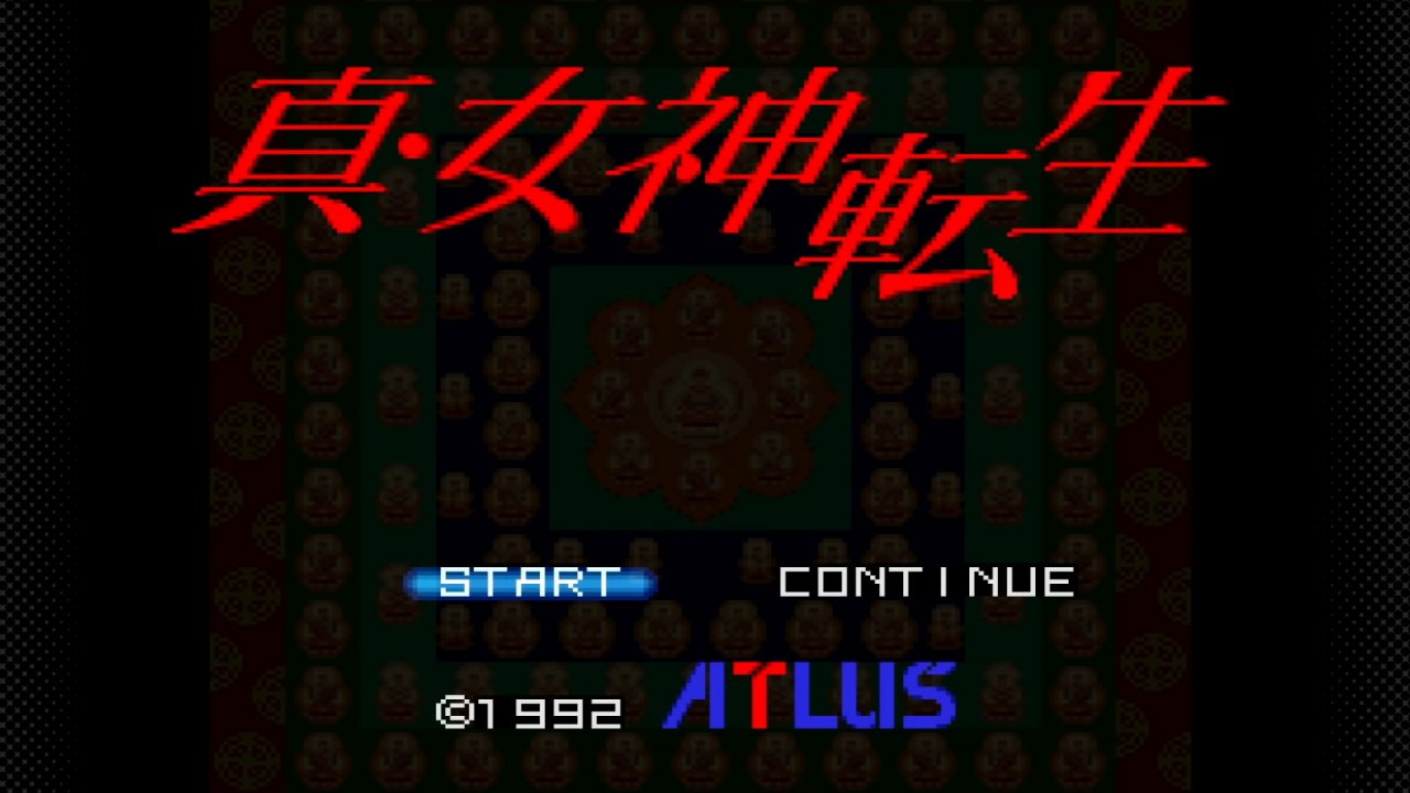 Shin Megami Tensei Is Being Added To Japan's NSO Super Famicom Collection