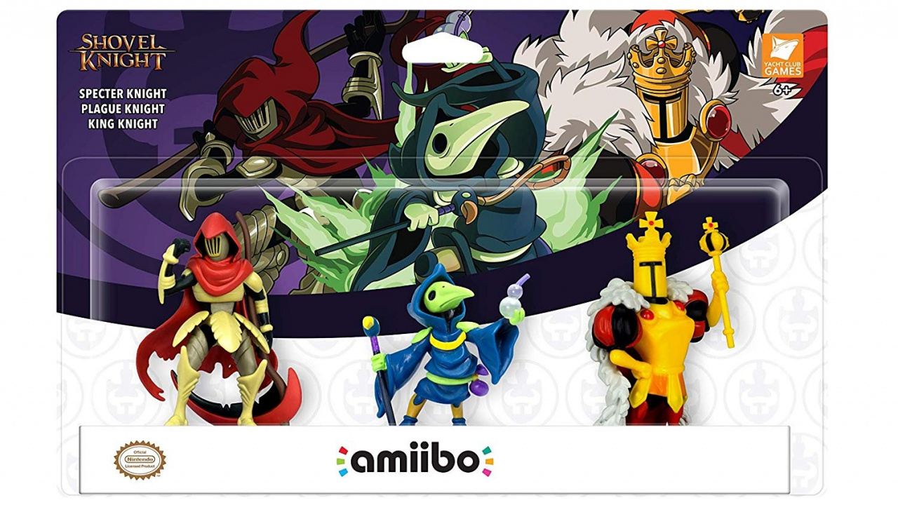 Shovel Knight's amiibo 3-Pack Launches This December, Game Functionality Detailed