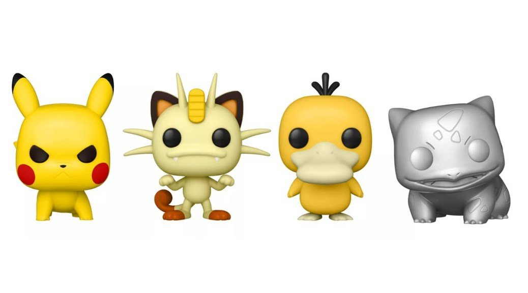 New Pokémon Funko Pops Announced, Including Meowth, Psyduck And A Fresh Pikachu Variant