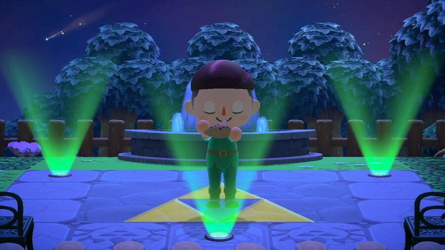 Zelda Animal Crossing Island