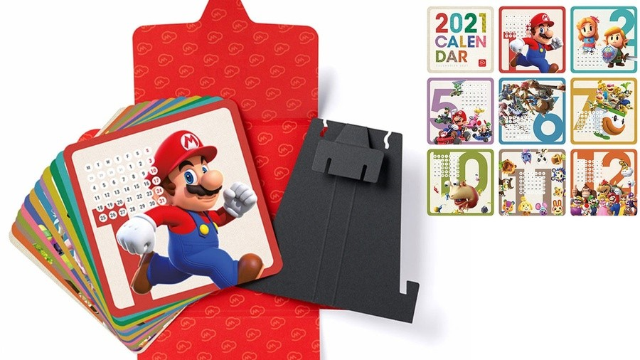 Nintendo calendar