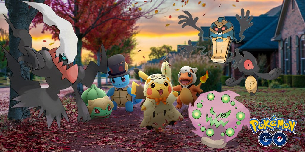 Pokemon Go Halloween 2020 Pokémon GO Halloween Event   2019 Event Info and 'A Spooky Message