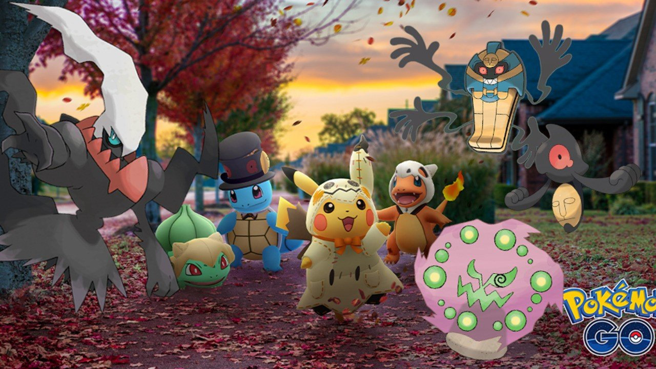 Pogo Halloween Event 2020 Pokémon GO Halloween Event   2019 Event Info and 'A Spooky Message