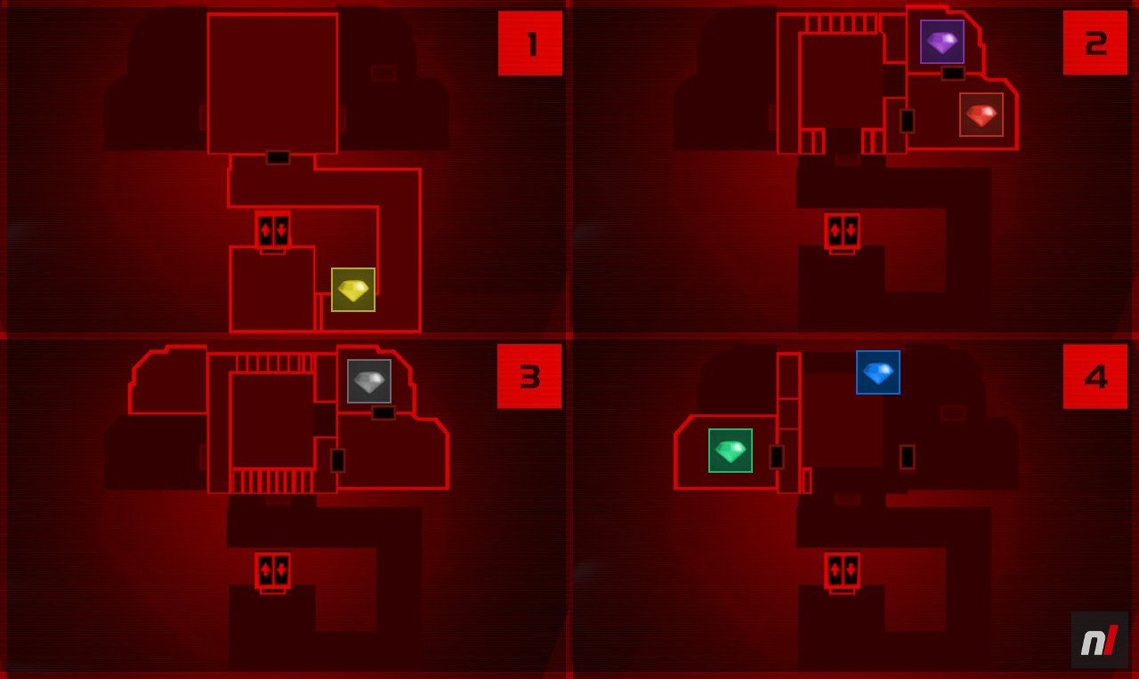 Luigi's Mansion 3 - Gem Locations And