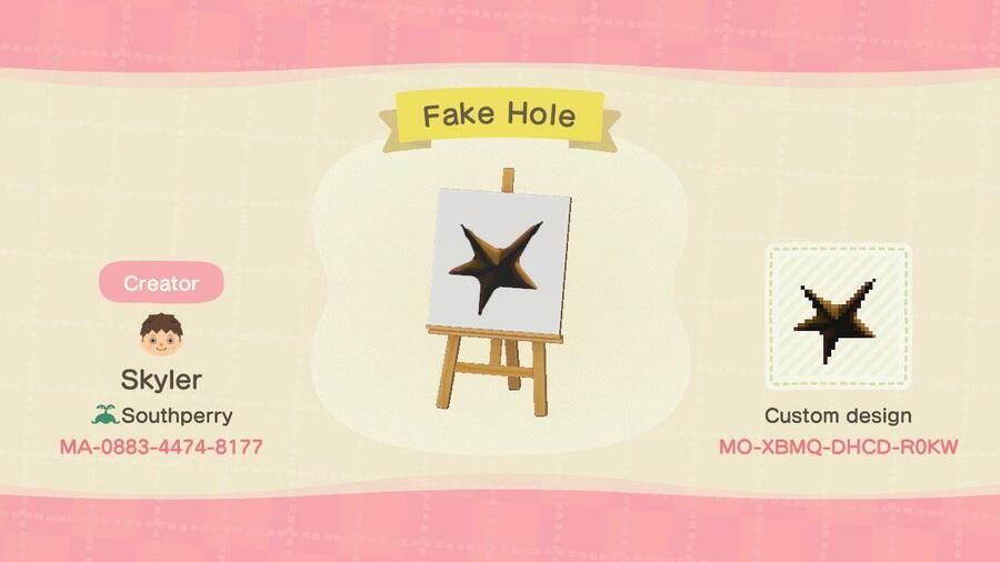 Animal Crossing New Horizons Best Custom Design Codes