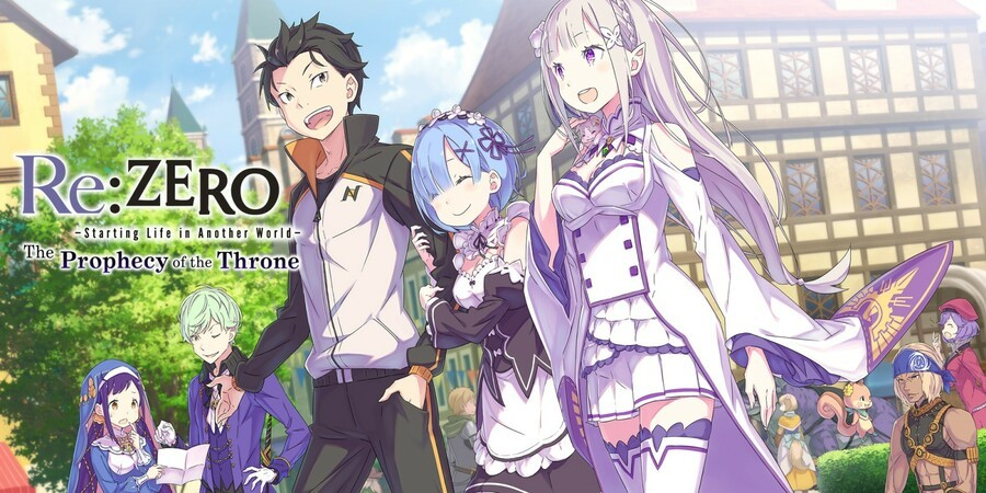 Re:Zero Starting Life In Another World The Prophecy Of The Throne (Switch)