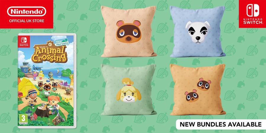 Animal Crossing New Horizons Cushions