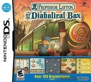 Professor Layton and the Diabolical/Pandora's Box