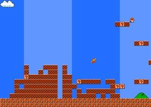 Oldschool Mario with a Tetris-twist