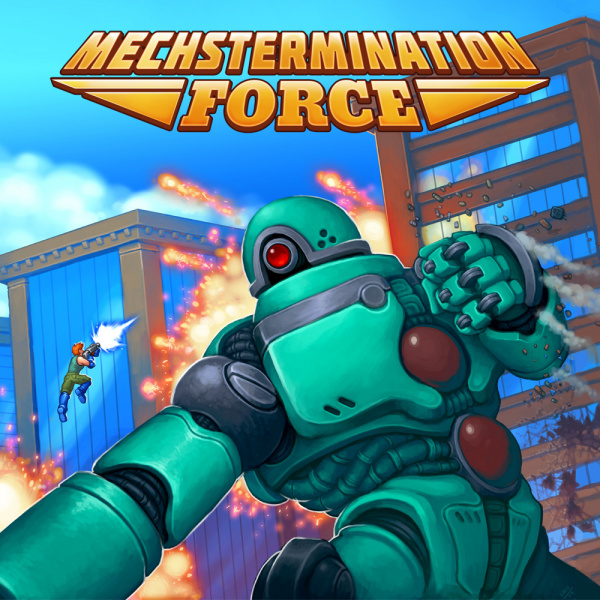 Mechstermination Force Review (Switch eShop) | Nintendo Life