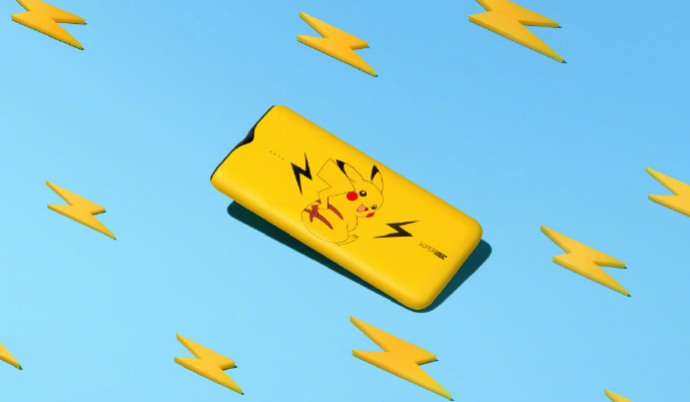 OPPO 10000mAh Pikachu Edition SuperVOOC Power Bank