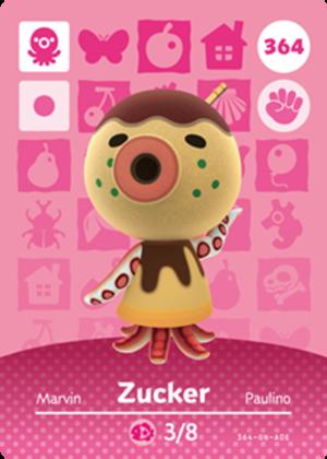 Zucker amiibo card