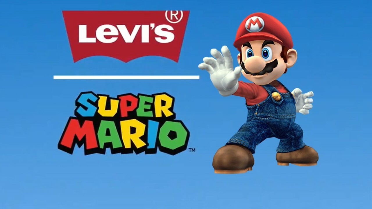 Super Mario And Levi S Join Forces For A Mushroom Kingdom Clothing