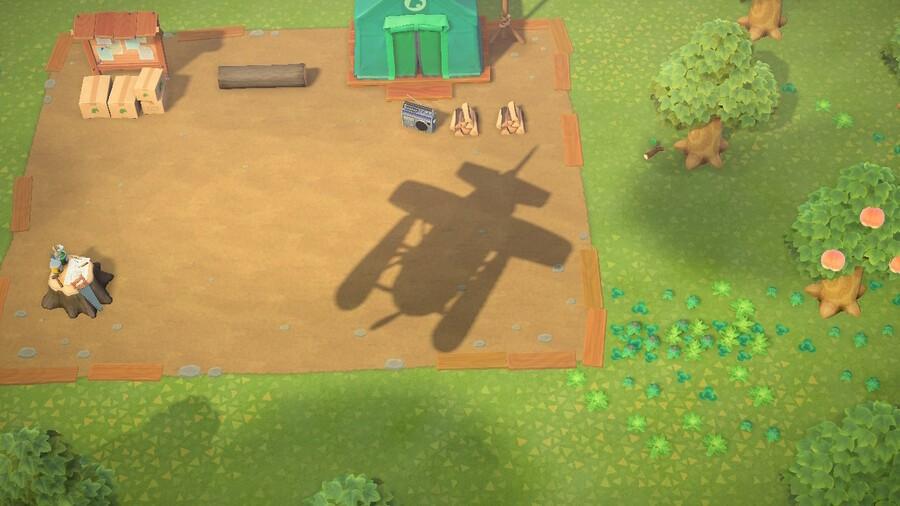 O jogador 6 entrou no Animal Crossing New Horizons