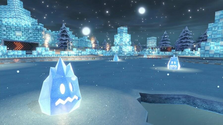 Mario Kart 8 - Sherbet Land (Wii U)