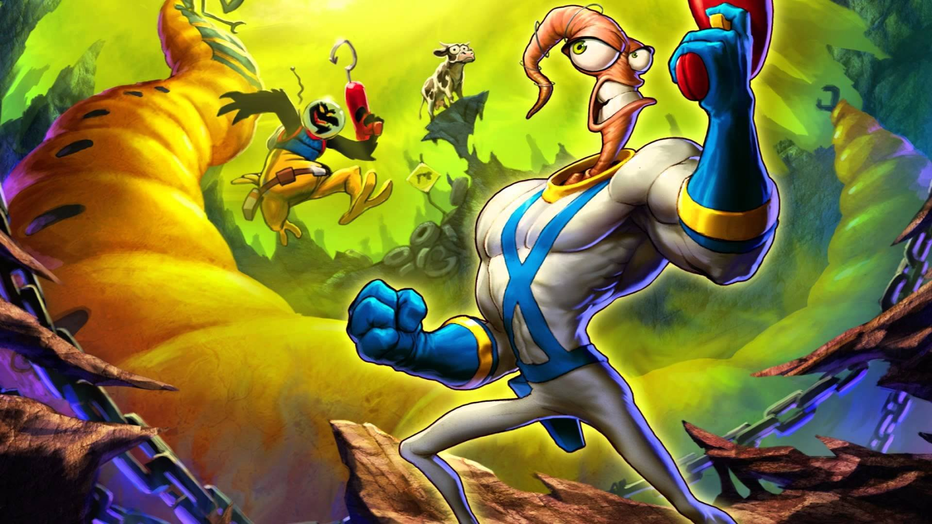 Intellivision's new console will feature a brand new Earthworm Jim title