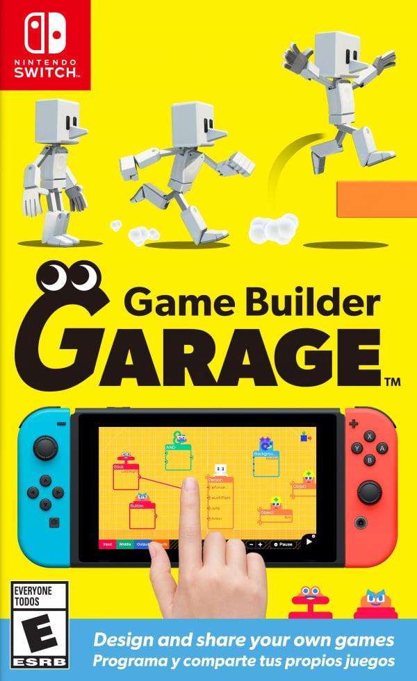 Game Builder Garage Nintendo Switch, Garage Reviews