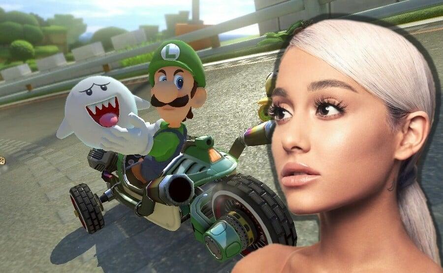Ariana Grande + Mario Kart 8 Deluxe