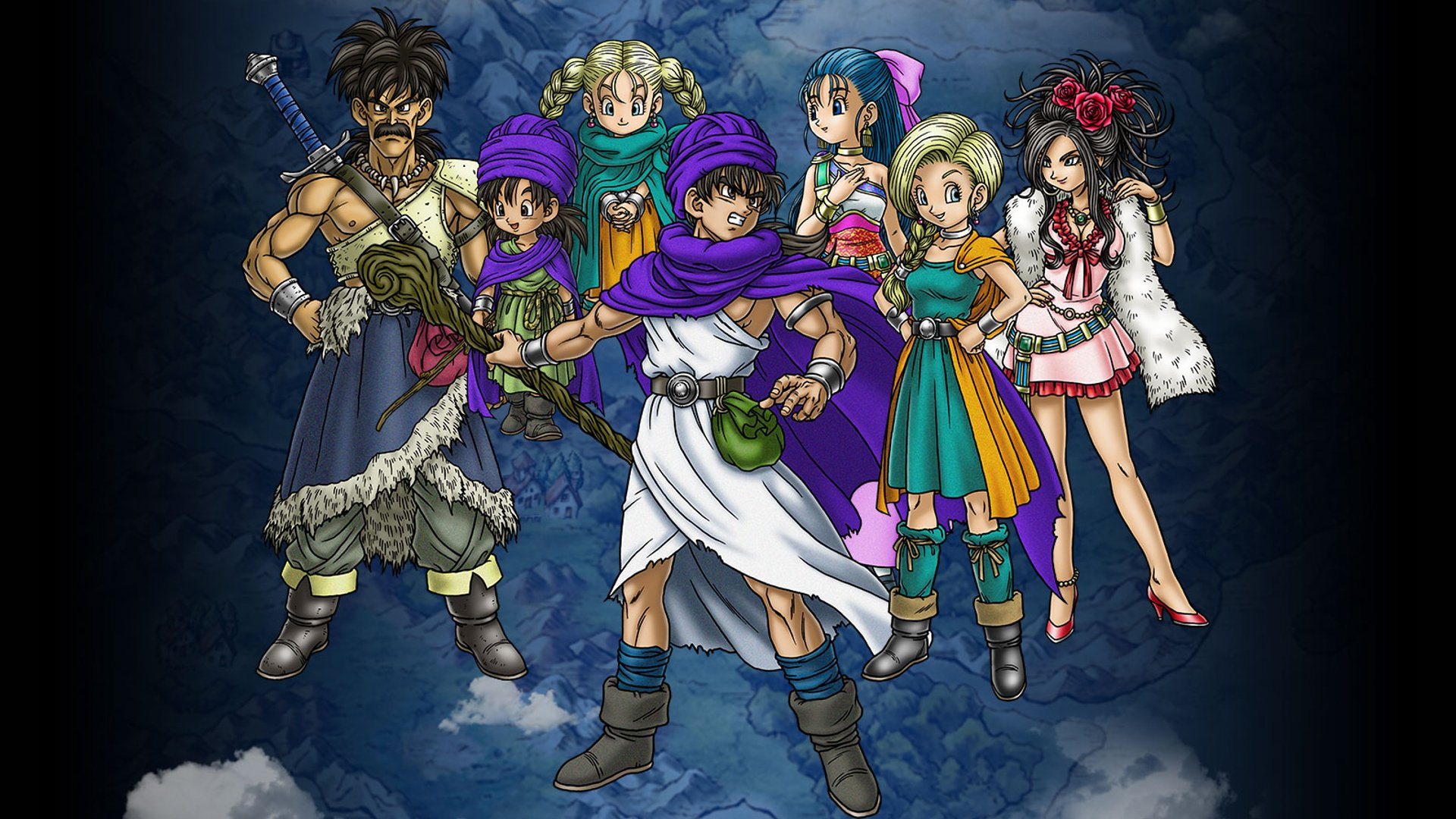 Decade-Old DS Game Dragon Quest V Re-Entered The Japanese Charts This Week