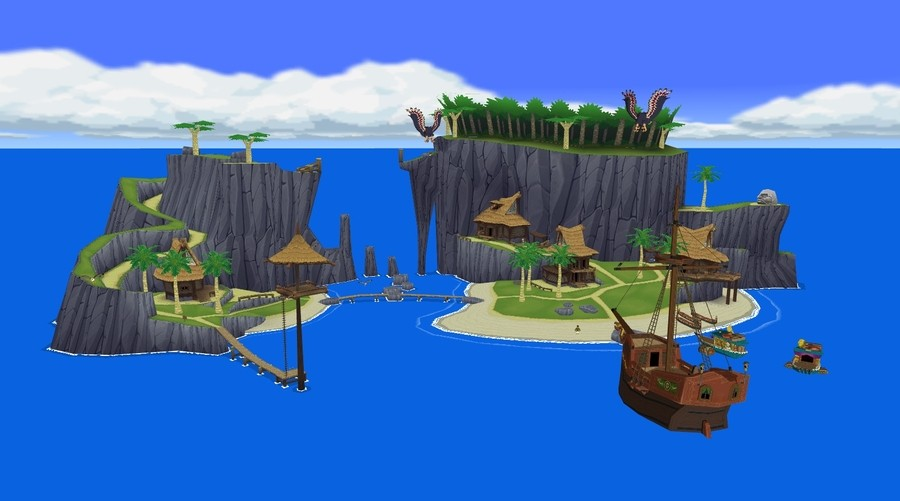 Outset Island from The Legend of Zelda: The Wind Waker