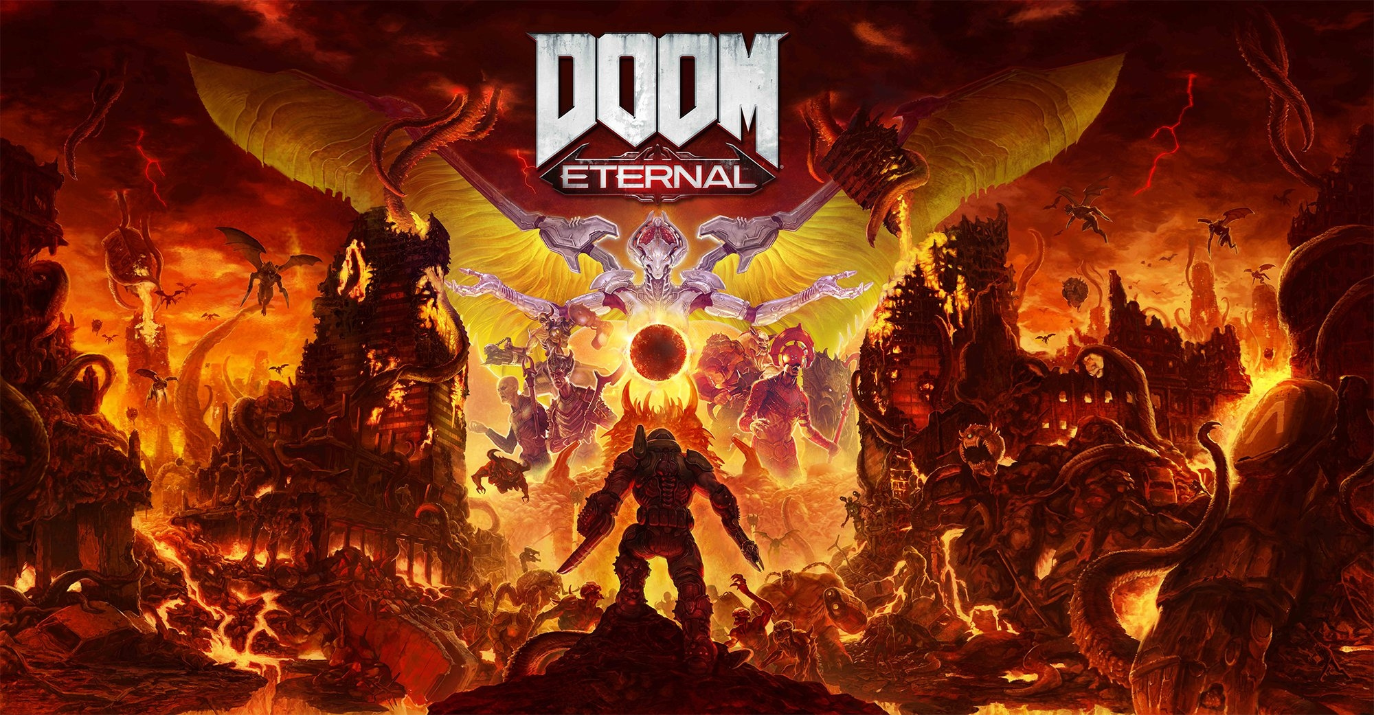 DOOM Eternal Raises Hell On Switch This November, But It Doesn't