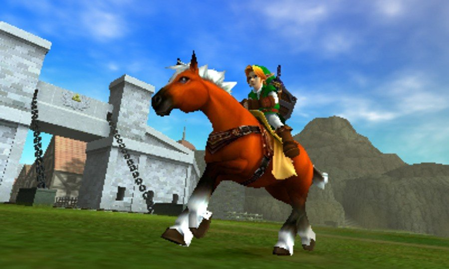 Look at all those horse polygons!!