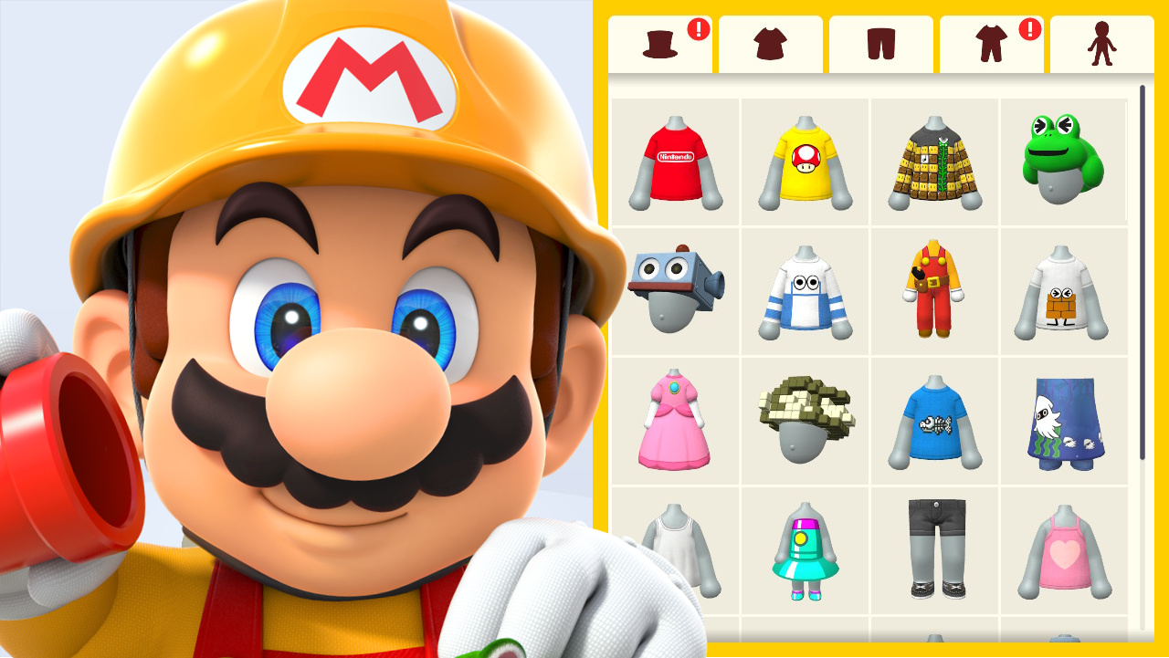 Super Mario Maker 2 All Mii Outfit Unlocks List Guide