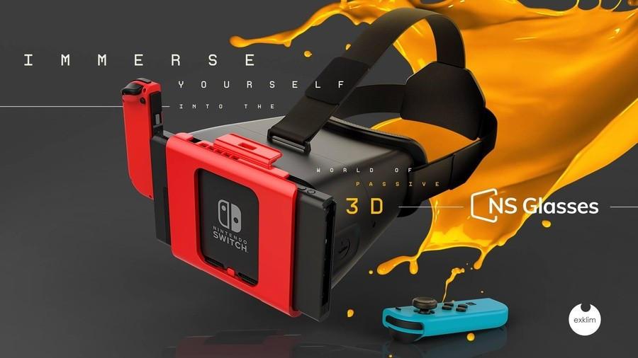 dda6849ce7c1 The very idea of Nintendo Switch having a VR headset - and VR games to use  with it