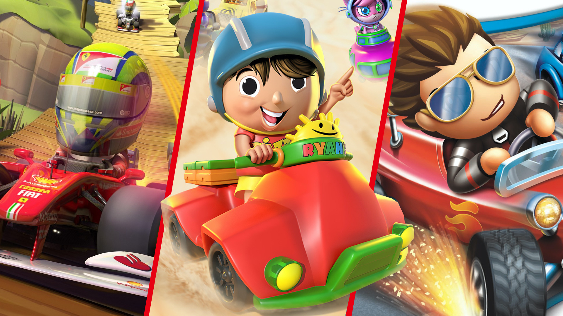 The 9 Strangest Choices For Licensed Karting Games Feature