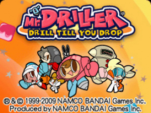 Mr. Driller: Drill Till You Drop