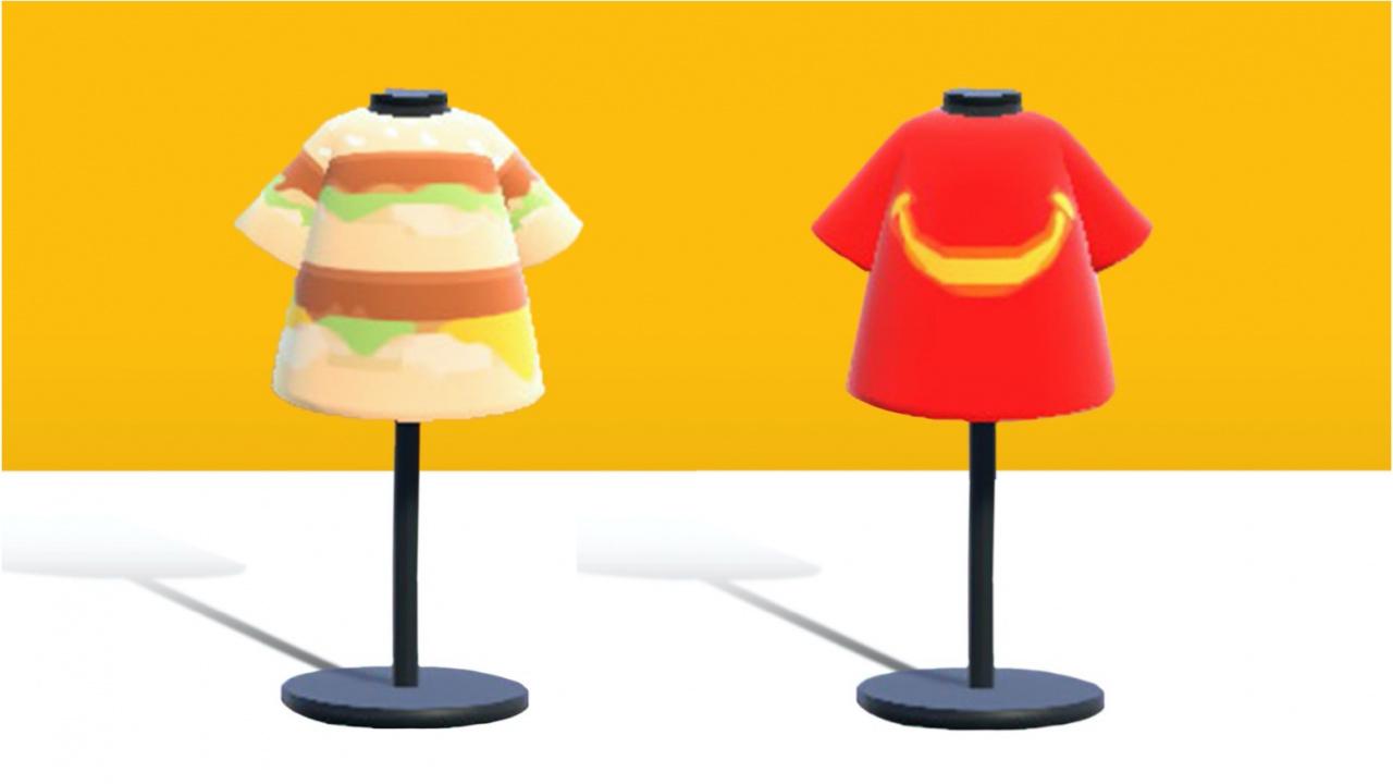 Random: Finally, You Can Dress Like A McDonald's Big Mac In Animal Crossing: New Horizons