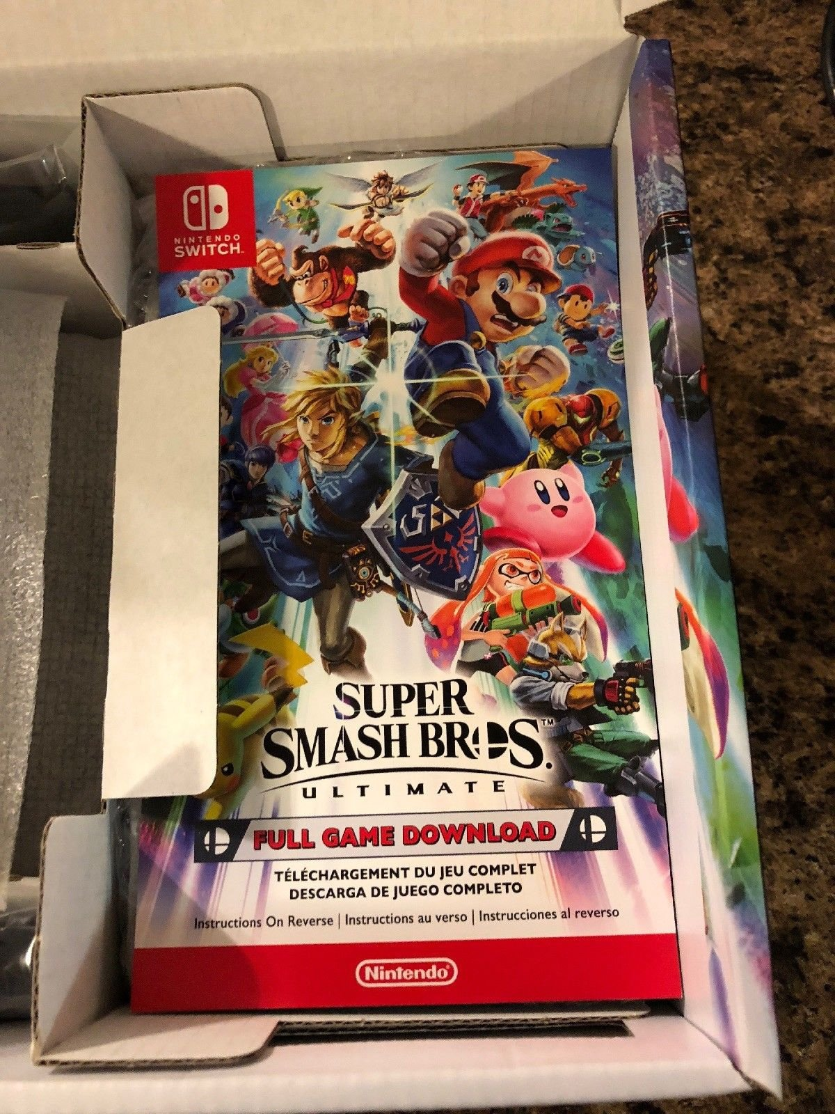 A Super Smash Bros Ultimate Switch Bundle Has Just Sold On Ebay For