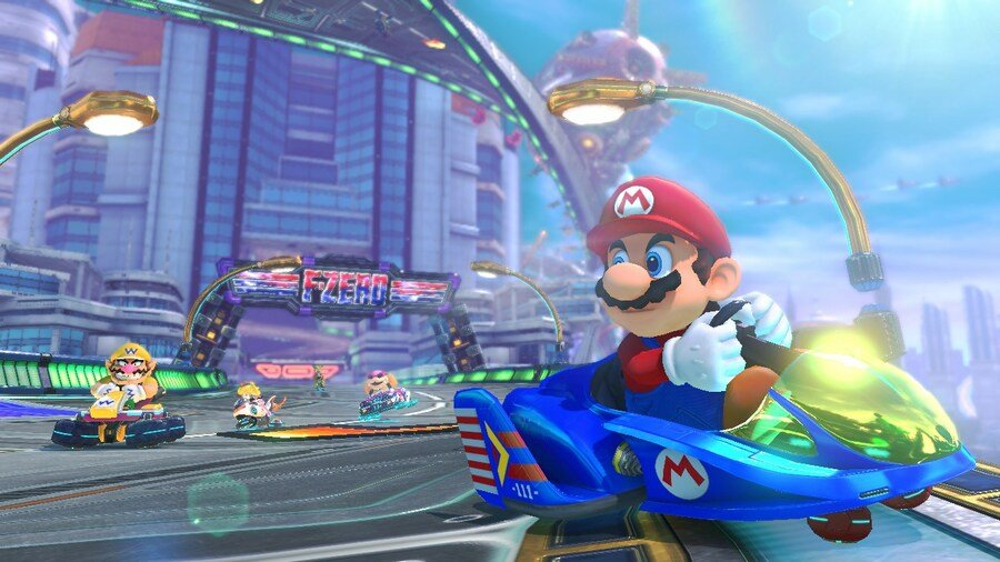 Mario Kart 8 DLC - F-Zero