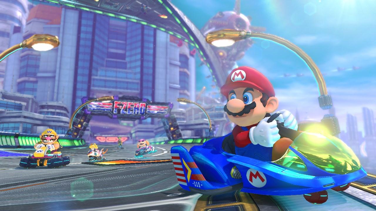 Preview Power Sliding Around The Legend Of Zelda X Mario