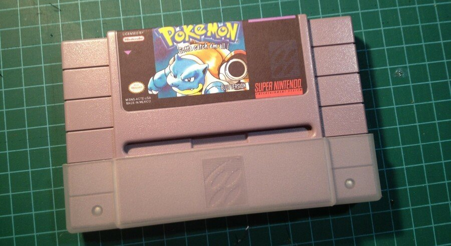 Pokemon Blue SNES