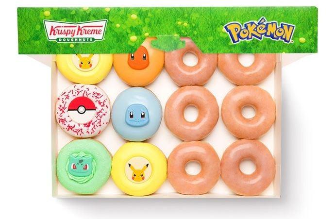 Krispy Kreme Website Product Pokemon Dozen